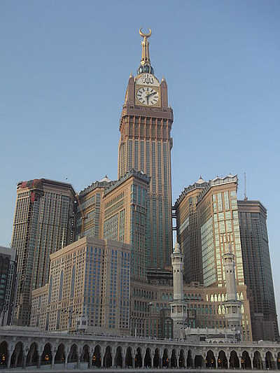 A view of Mecca Clock Tower.