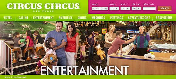 Circus Circus Las Vegas.