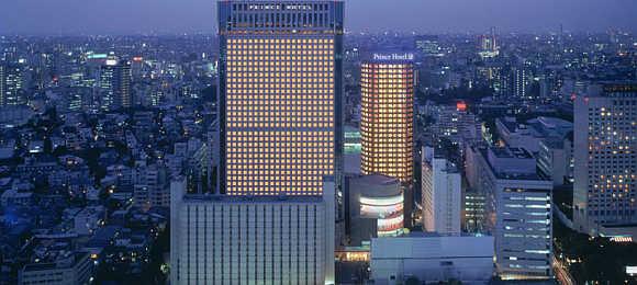 Shinagawa Prince Hotel.