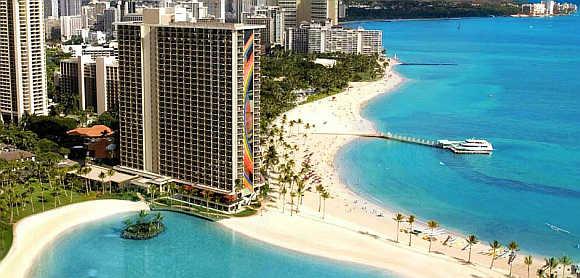 Hilton Hawaiian Village.
