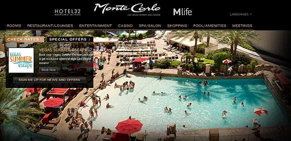 Monte Carlo Resort and Casino.