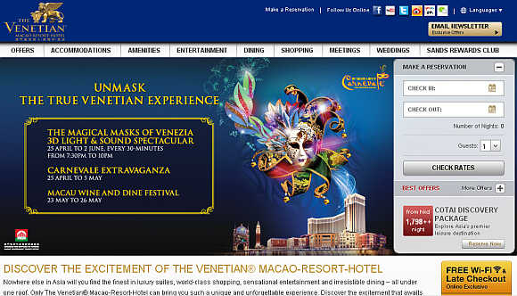 The Venetian Macao.