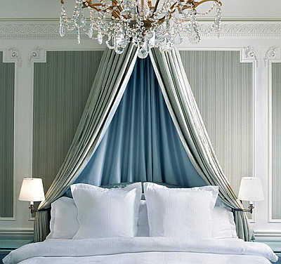 A view of a bedroom at St Regis.