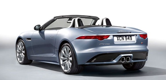 The Jaguar F-Type is in India