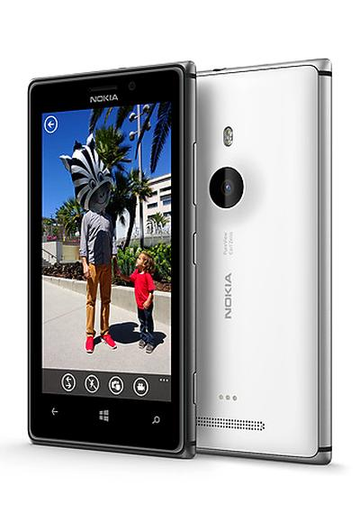 Nokia metal-body Lumia 925 smartphone.