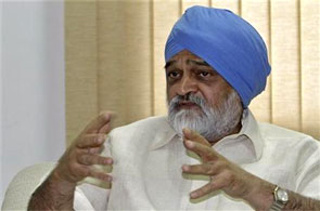Deputy Chairman of India's Planning Commission Montek Singh Ahluwalia.