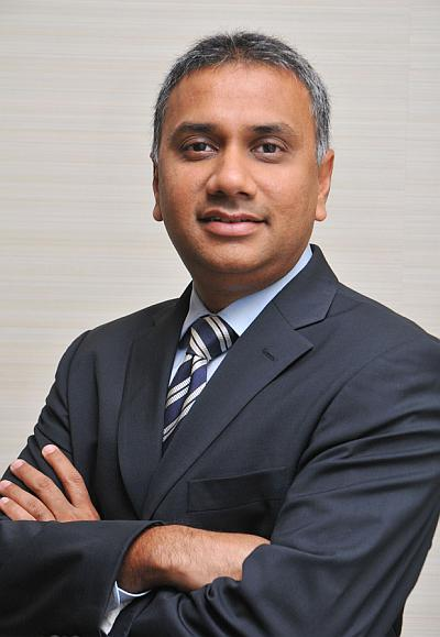 Salil Parekh, chief executive of application services North America, UK, A-Pac and financial services global business units.