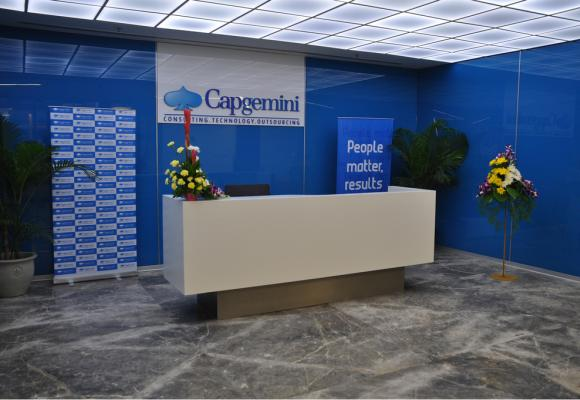 Capgemini's BPO centre in Bangalore.