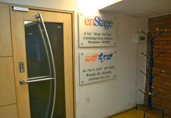 The EnStage Inc. Office in Bangalore.