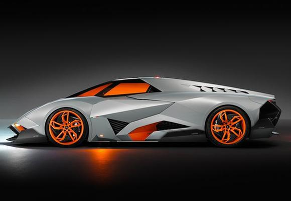 Lamborghini Egoista: A one-seat car you can't buy