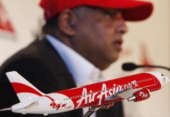 Air Asia CEO Tony Fernandes.