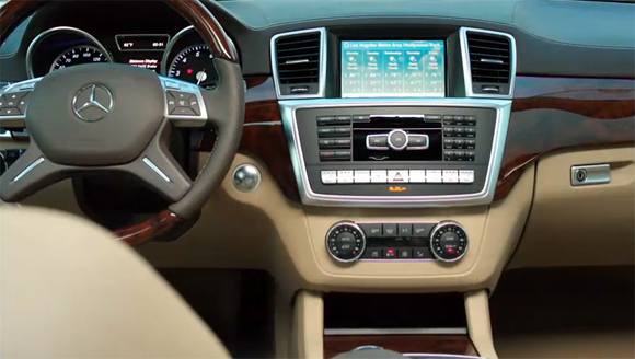 Mercedes GL-Class.