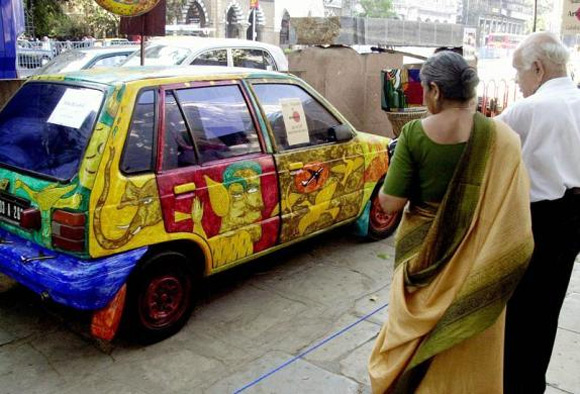Stunning images of artistic cars