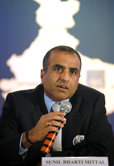 Bharti Enterprises chairman Sunil Mittal.