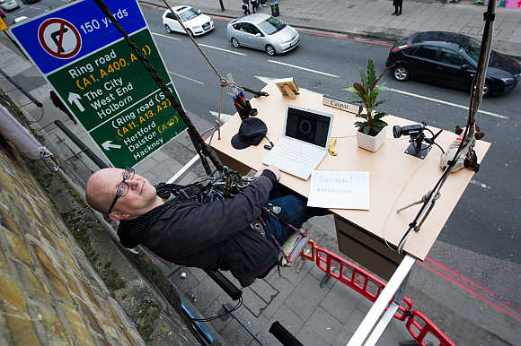 The world's most unusual office