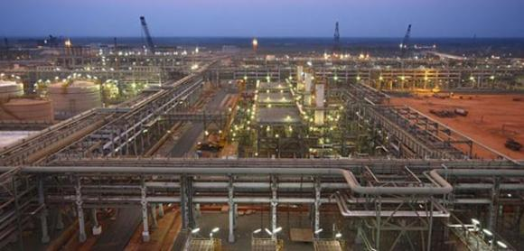Reliance Industries' KG-D6 facility located in Andhra Pradesh.