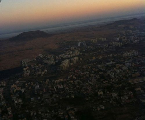 Aerial View of Pune.
