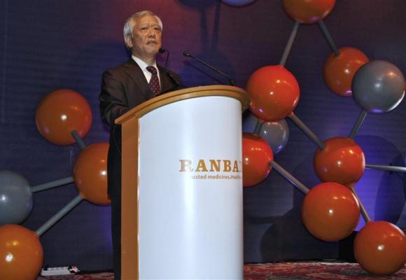 Ranbaxy Chairman Tsutomu Une.