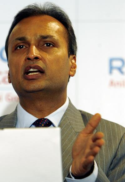 Reliance Communication Chairman Anil Ambani.