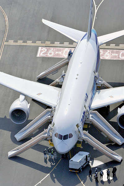 A view of a plane at an airport. Photo is for representation purpose only.