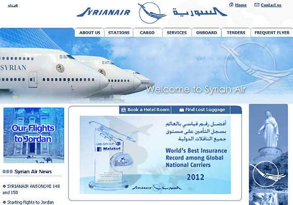 Syrian Air.