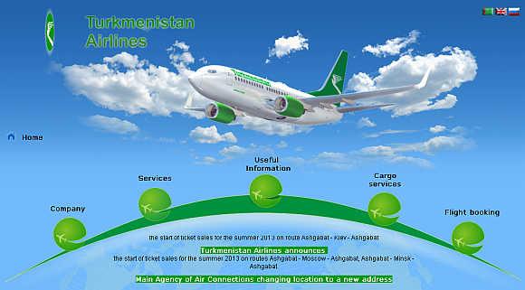 Turkmenistan Airlines.