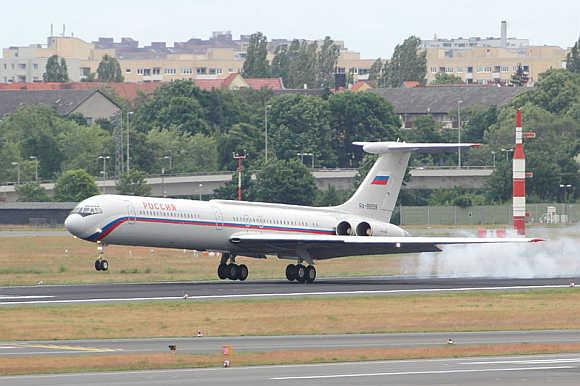 Rossiya Airlines.