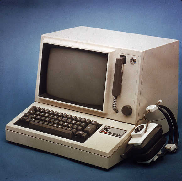 Iconic images of early computers
