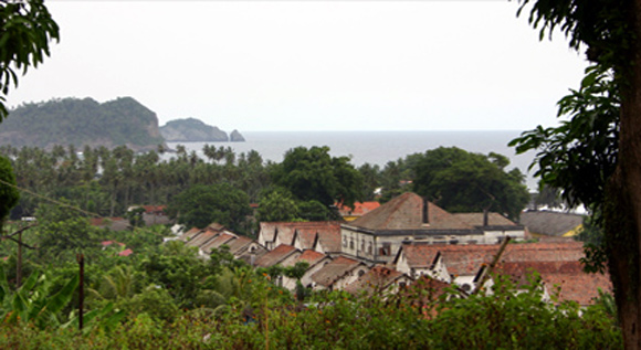 Pico Cao Grande, Sao Tome and Principe.