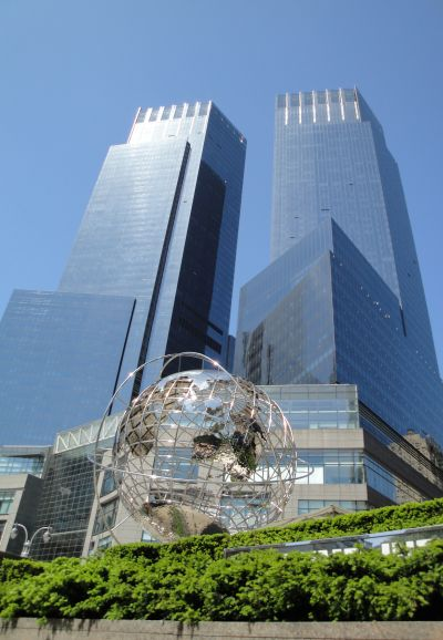 The Time Warner Center.