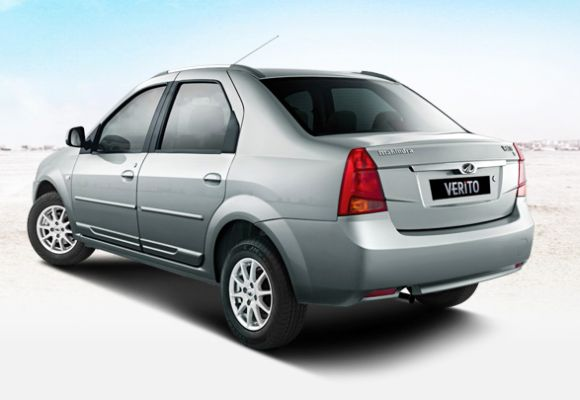 Mahindra Verito Sedan. The hatch is based on the same platform and is expected to have similar performance.