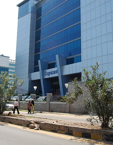 Nasdaq-listed Cognizant, which relies heavily on its offshore delivery capabilities in India.