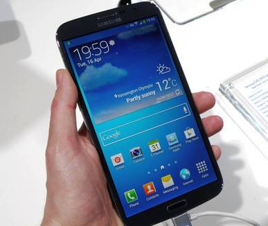 Samsung launches Galaxy Mega @ Rs 25,100