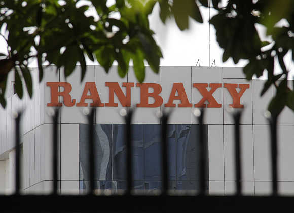 A Ranbaxy office in Mohali.