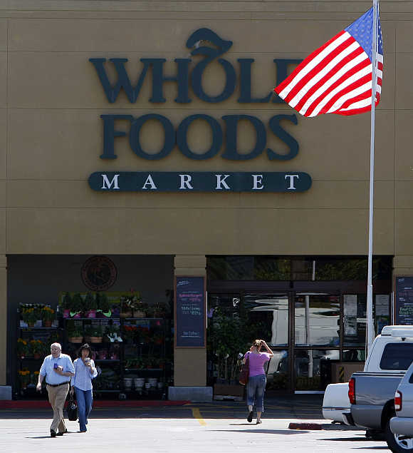A Whole Foods Market in LaJolla, California.