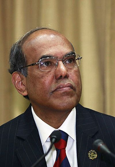 Former Reserve Bank of India Governor Duvvuri Subbarao.