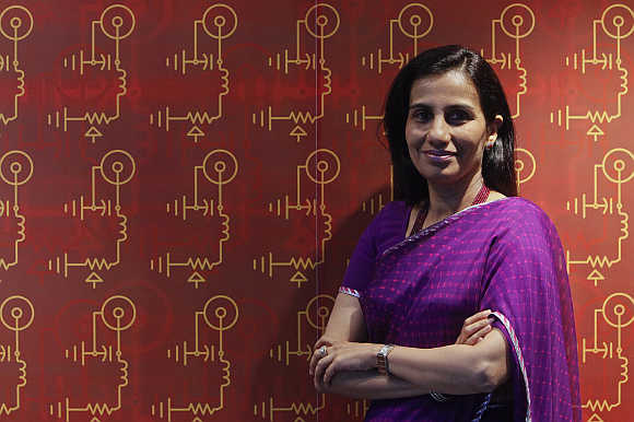 Chanda Kochhar, Managing Director and CEO, ICICI Bank, at the bank's headquarters in Mumbai.
