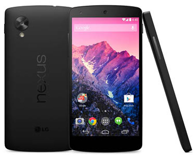 Google unveils new Nexus 5 smartphone with 'KitKat'
