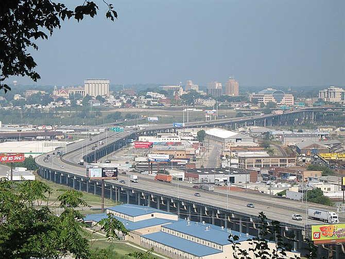 A view of Kansas City, Kansas.