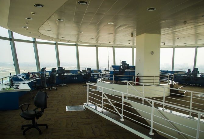 Inside India's tallest Air Traffic Control tower