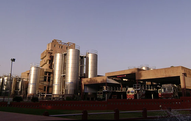 Amul Plant at Anand.