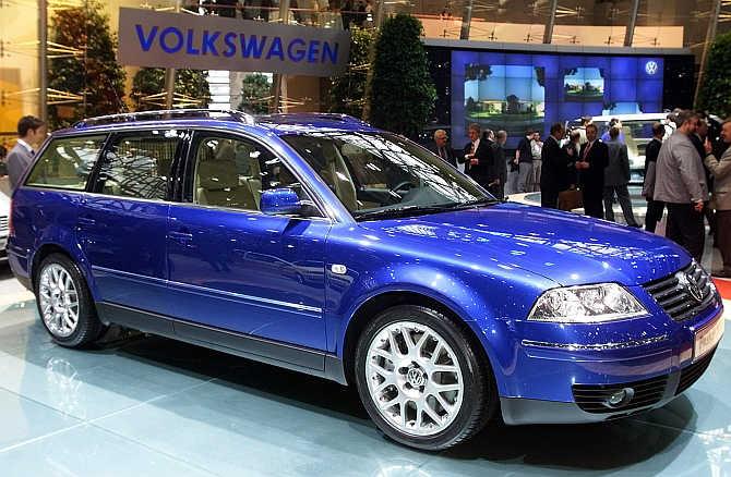 Volkswagen Passat in Geneva.