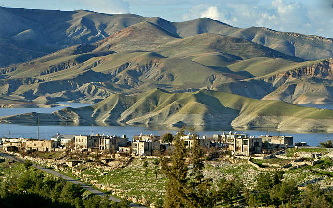 A view of Duhok, a well-known summer-time resort, about 350km north of Baghdad, Iraq.