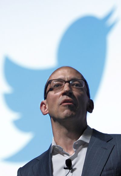 Twitter's CEO Dick Costolo.