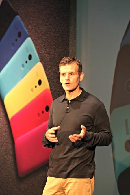 Motorola Chief Executive Dennis Woodside.