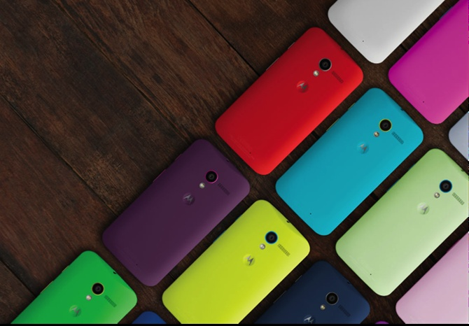 Motorola unveils low-cost smartphone, Moto G
