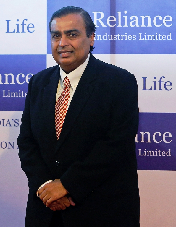 Mukesh Ambani, chairman of Reliance Industries Limited.