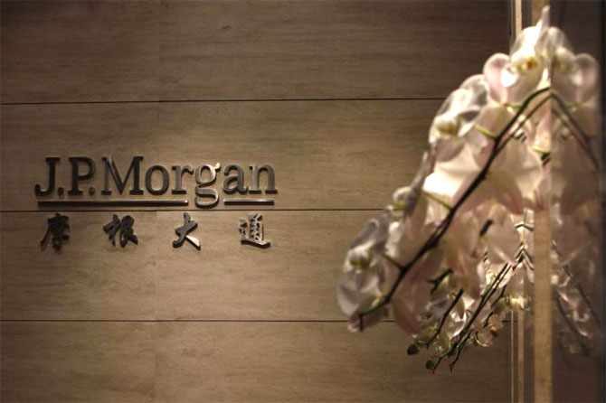 Mystery behind J P Morgan's China