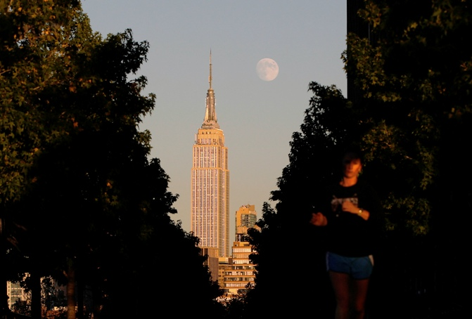 New York's Empire State building
