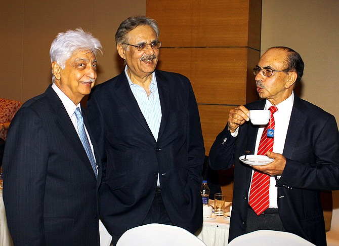 The event was attended by some of the top industrialists in India.